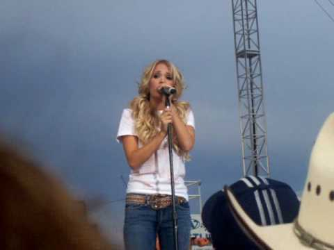Carrie Underwood - Starts With Goodbye -7-28-06