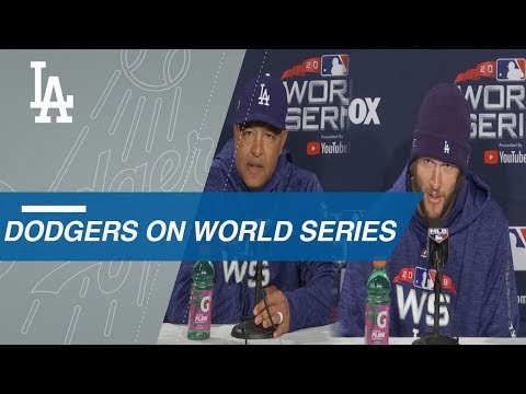 Video: WS2018 Gm1: Kershaw, Roberts on anticipation for WS