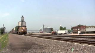 Elm Creek (NE) United States  city photos : [HD] TIMELAPSE on Union Pacific's Kearney Subdivision- Elm Creek, NE
