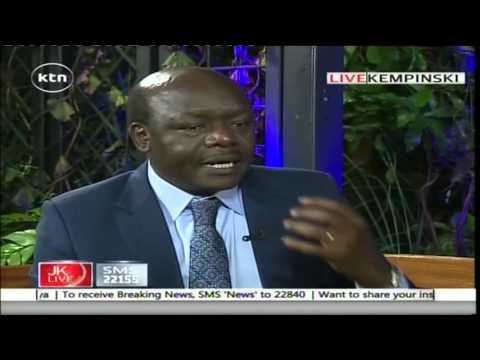 Jeff Koinange Live with Mukhisa Kituyi on Inspiration Thursday, 5th May 2016 Part 1