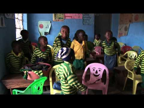 Child Africa Kabale school baby class