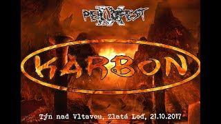 Video Karbon, Hotel Zlatá Loď, Týn nad Vltavou, 21.10.2017