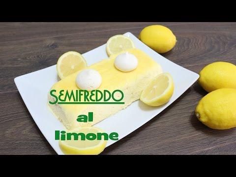 semifreddo al limone - ricetta facile da preparare