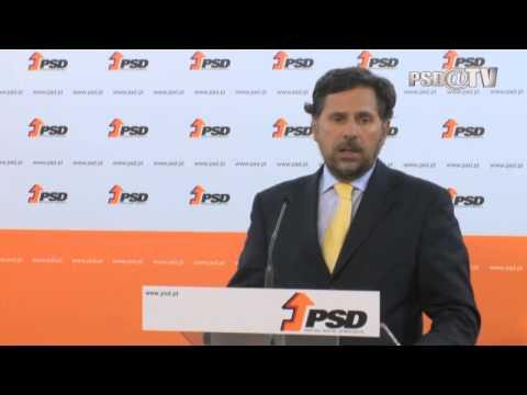 Declarações de Pedro Roque após reunião com a CGTP