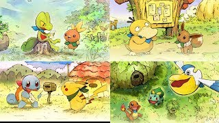 UK: Adventure Awaits in Pokémon Mystery Dungeon: Rescue Team DX! by The Official Pokémon Channel