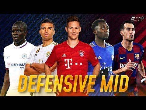 Top 10 Defensive Midfielders in Football 2020