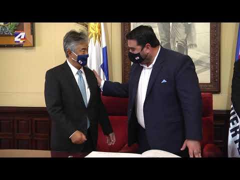 El Embajador de Japón en Uruguay Tatsuhiro Shindo visitó Paysandú