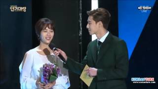 Video (Tr Sub)141231 Hwang Jung Eum - Park Seo Joon SBS Drama Award MP3, 3GP, MP4, WEBM, AVI, FLV Maret 2018