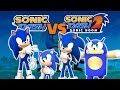 Race Against Sonics: Classic Sonic vs Modern Sonic vs Boom Sonic vs Andronic