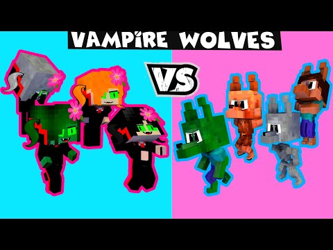 Monster School Vampire Girls vs Werewolf Boys