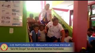 II.EE DE CAJAMARCA PARTICIPAN DE I SIMULACRO NACIONAL ESCOLAR
