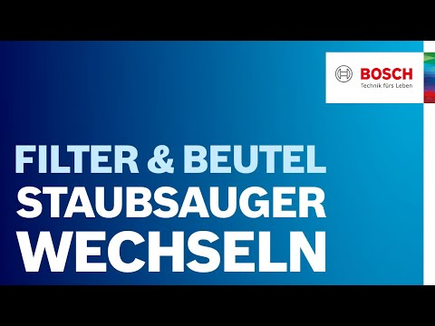 Staubsaugerbeutel wechseln: Anleitung & Tipps von Bosch