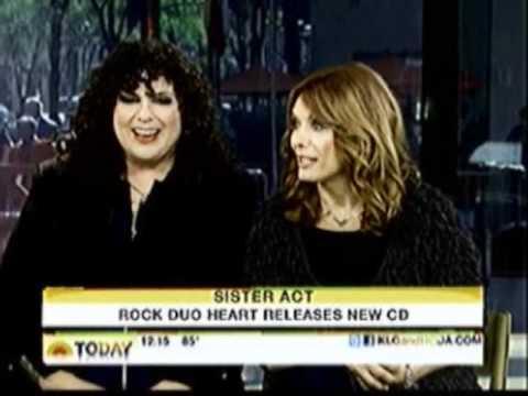 Ann Wilson & Nancy Wilson @ The Today Show