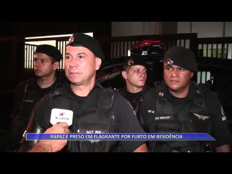 JATAÍ | Rapaz é preso em flagrante por furto em residência