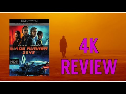 Blade Runner 2049 - 4K Blu-ray Review | HDR | Dolby Atmos