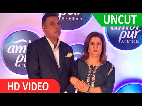 UNCUT :  AMBI PUR HOST BOMAN IRANI HOUSE PARTY ALONG WITH FARAH KHAN AT TAJ LAND