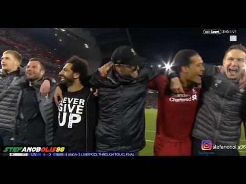 "Liverpool Vs Barcelona 4-0 ⚽ ""You'll Never Walk Alone"" - Champions League 2019 ⚽ HD"