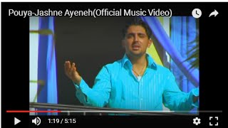 Jashneh ayeneh Music Video Pouya