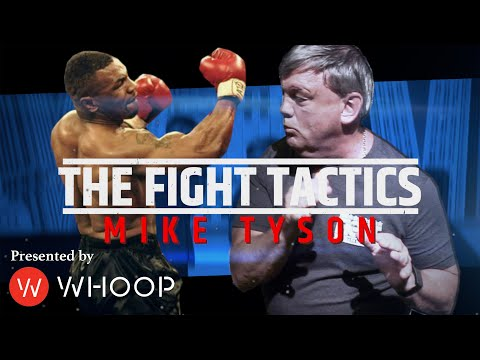 Teddy Atlas demonstrates Mike Tyson's Signature Punch, the Devastating Uppercut   THE FIGHT TACTICS
