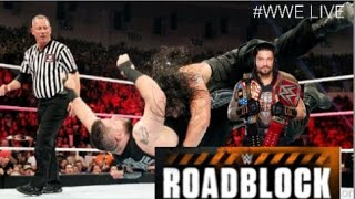 Nonton Kevin Owens Vs Roman Reigns   Roadblock End Of Line Wwe Dec 2016 Film Subtitle Indonesia Streaming Movie Download