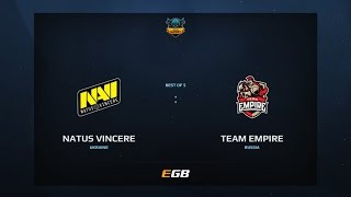Natus Vincere vs Team Empire, Game 1, Dota Summit 7, EU Qualifier