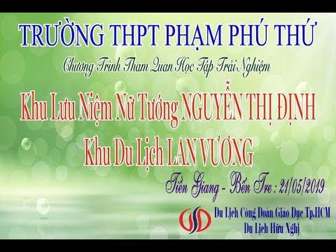 THPT Phạm Phú Thứ - Bến Tre