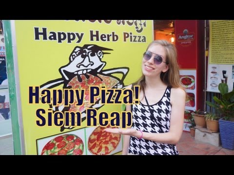 Happy Pizza in Siem Reap, Cambodia