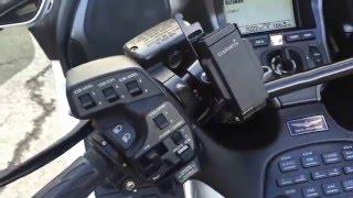 9. 2007 Honda Goldwing Navigation and ABS offered at Bangormotorsports.net