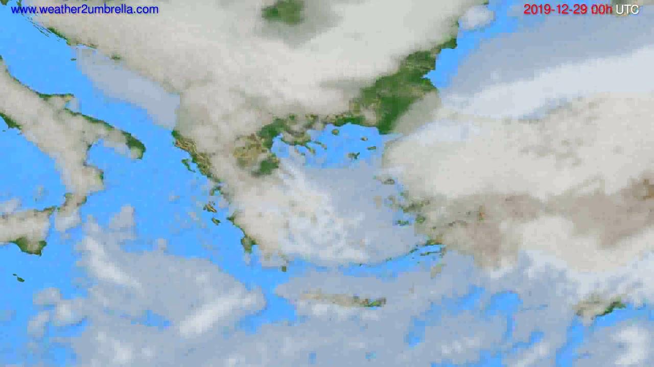 Cloud forecast Greece // modelrun: 00h UTC 2019-12-28