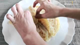 Cómo hacer crepas