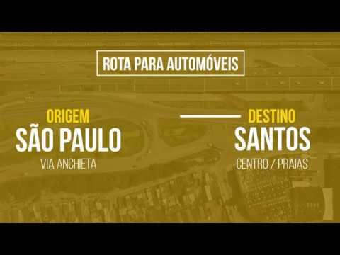 Mudanças na entrada de Santos a partir de 2ª feira (2)