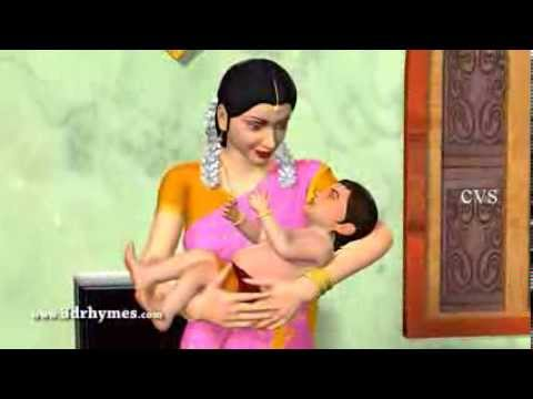 Edavaku Edavaku - 3D Animation Telugu Nursery Rhyme for children