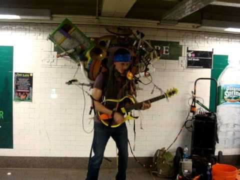 SUBTERRANEAN: JEFF MASIN AT UNION SQUARE STATION (VIDEO)