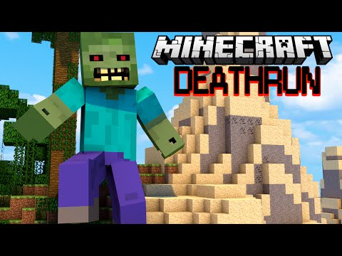 ЗОМБИ РАЗДАВИЛ ЛЮДЕЙ - Minecraft Deathrun (Mini-Game) (видео)