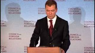 A Conversation With Dmitry Medvedev