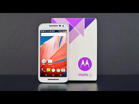 Moto G 3rd Gen (2015): Unboxing & Review