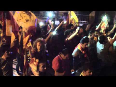 30 Mayıs 2015 Milas Galatasaray şampiyonluk kutlaması son