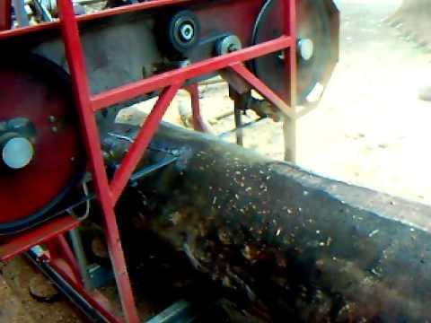 MCA 600 Cortando Eucalipto em Áurea/RS