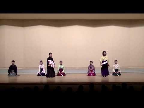 20140119,福岡市立住吉小学校(仕舞)「能」高砂
