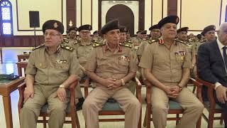الرئيس السيسى يؤدى صلاة الجمعه بمسجد المشير طنطاوى ويلتقى عدد من قادة القوات المسلحة