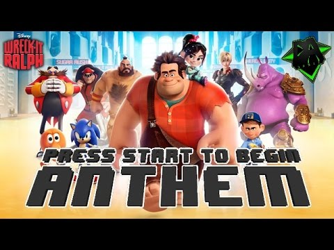 Video (Disney Wreck-It-Ralph Music Video) Press Start To Begin Anthem by DAGames download in MP3, 3GP, MP4, WEBM, AVI, FLV February 2017
