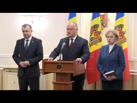 Игорь Додон провел первое в новом году совещание с руководством страны