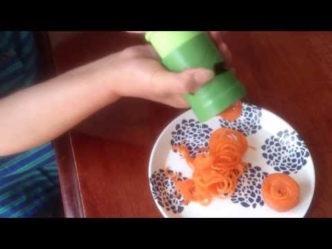 Food Peeler - Buy it now at http://stores.ebay.com.au/BetterLife0311 Watch this video to see how this amazing tiny and handy kitchen tool works! Designed to make raw veget...
