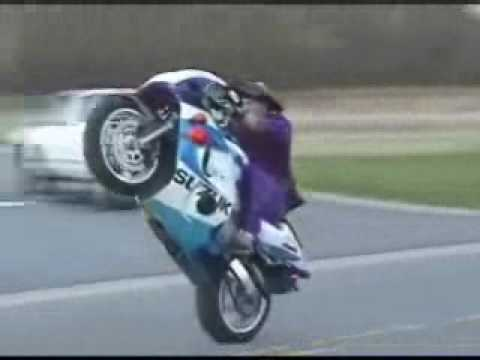 Motorcycle Tricks and Accidents