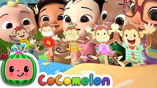 Video Five Little Monkeys | CoCoMelon Nursery Rhymes & Kids Songs MP3, 3GP, MP4, WEBM, AVI, FLV Maret 2019