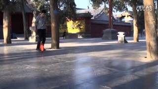 Electronic Unicycle in Shaolin Temple, New Way to Ride on Electric Unicycle