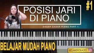 Video POSISI JARI  YANG BENAR PADA PIANO - DASAR DASAR PIANO 1 MP3, 3GP, MP4, WEBM, AVI, FLV Desember 2018
