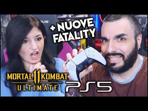 MORTAL KOMBAT 11 MIGLIORATO SU PS5 E XSX! NUOVE FATALITY!