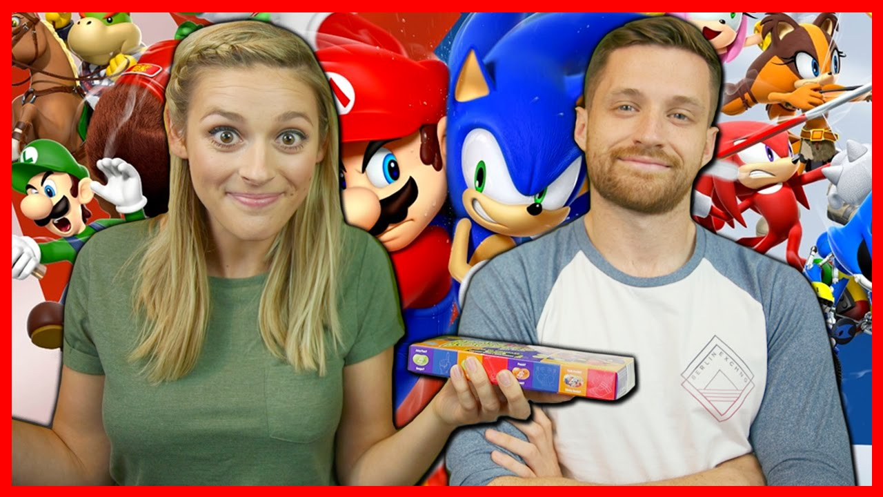 MARIO & SONIC RIO 2016 OLYMPIC GAMES W/ THE BEAN BOOZLED CHALLENGE!