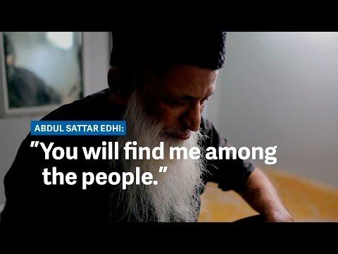 Abdul Sattar Edhi, Pakistan's \